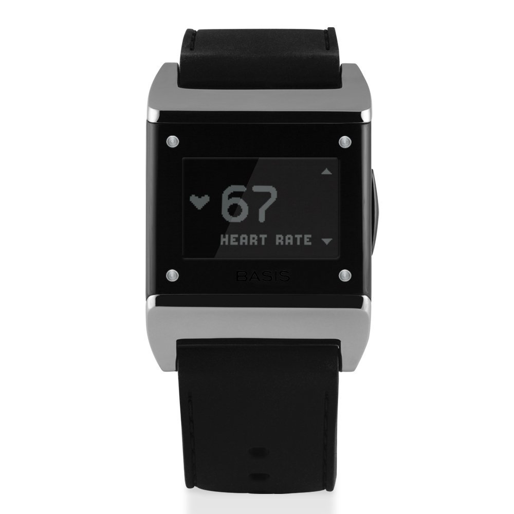 basis health tracker for sleep and stress carbon steel 2014 edition