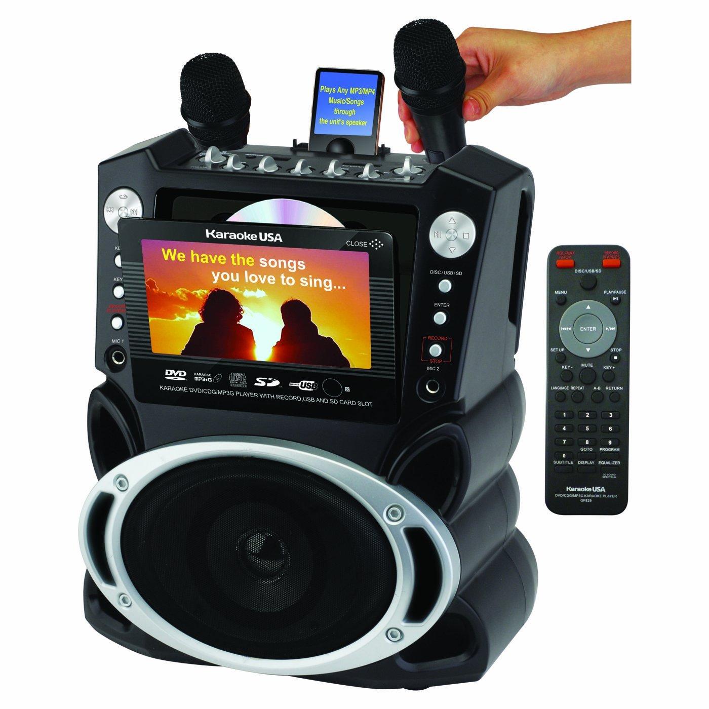 karaoke usa gf829 karaoke system