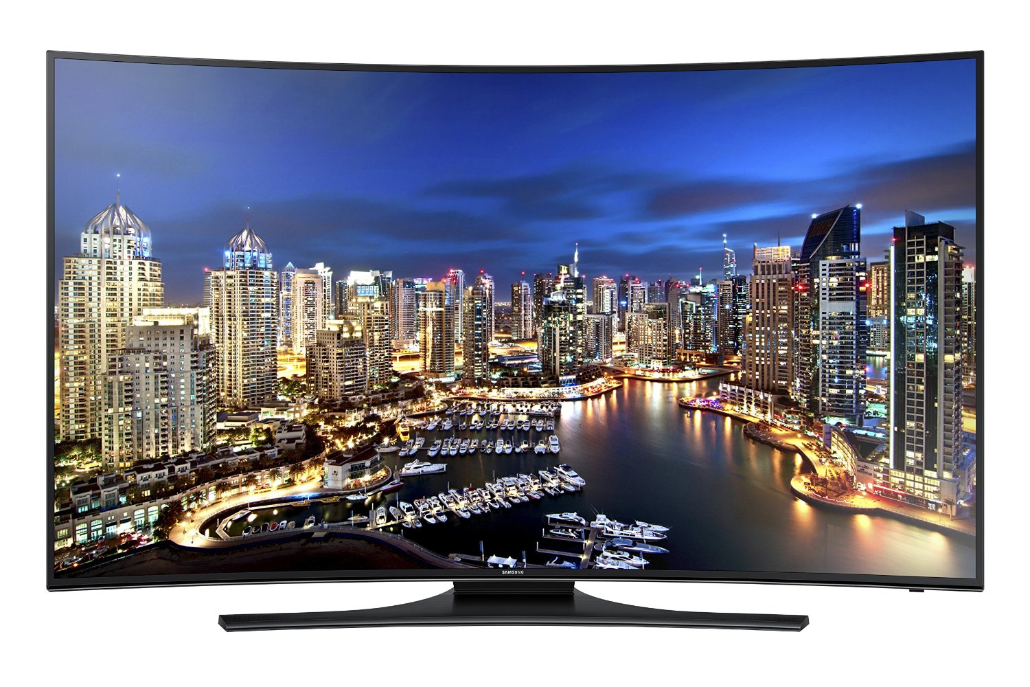 samsung electronics un55hu7250 curved 55-inch 4k uhd 120hz smart led tv