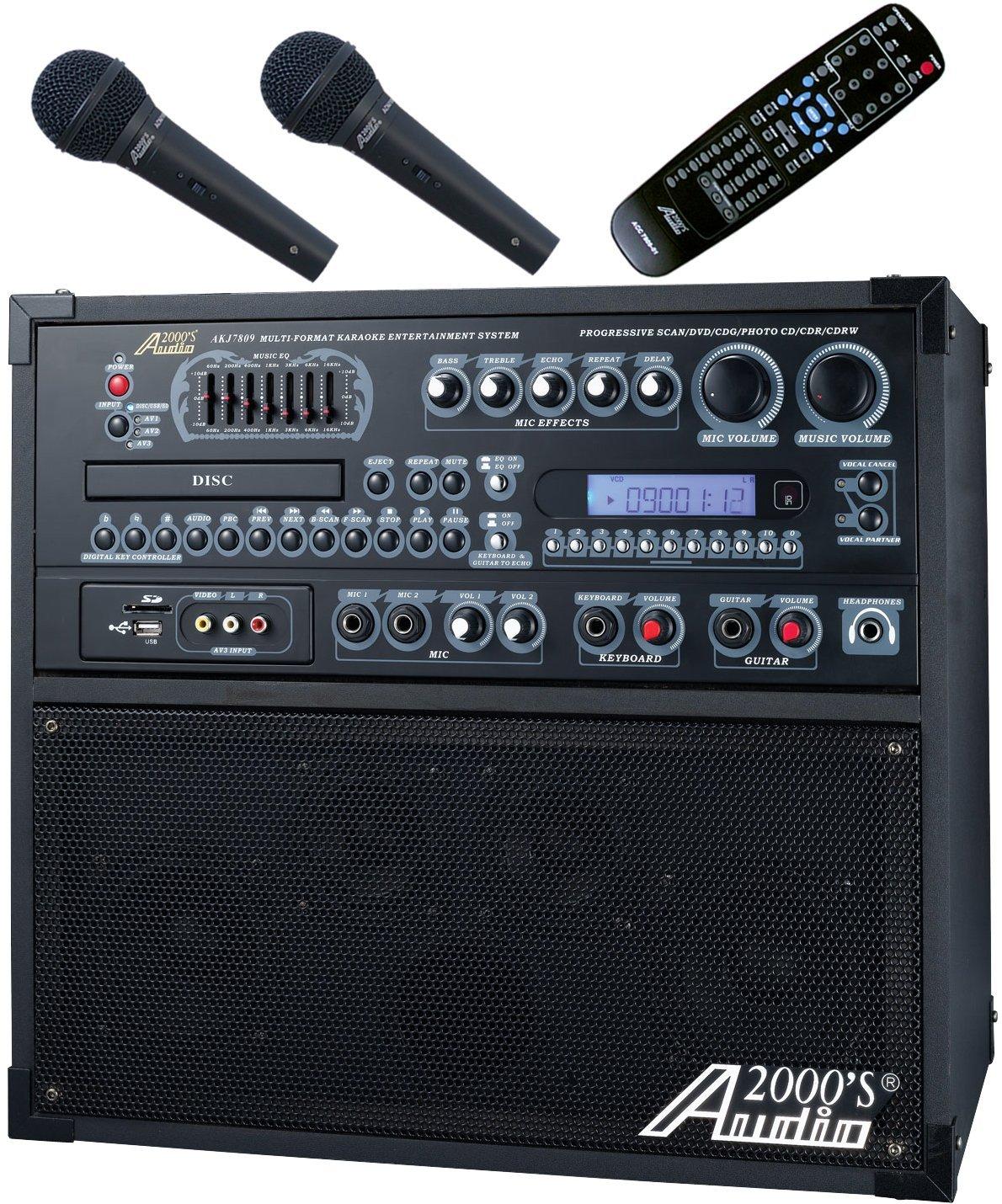 Audio 2000'S AKJ7809 Karaoke