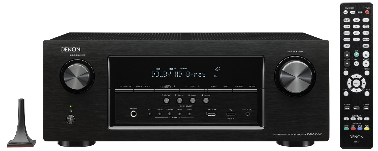 Denon AVR-S900W 7.2 Channel Network AV Receiver