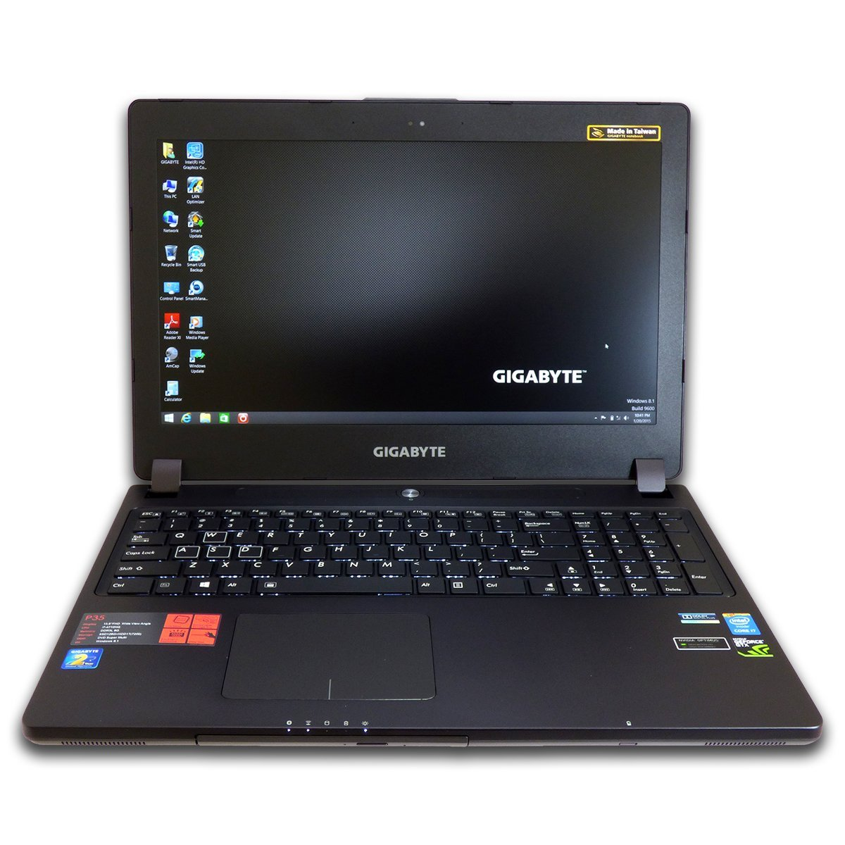 Gigabyte P35Xv3 15.6 inch FHD Gaming Laptop