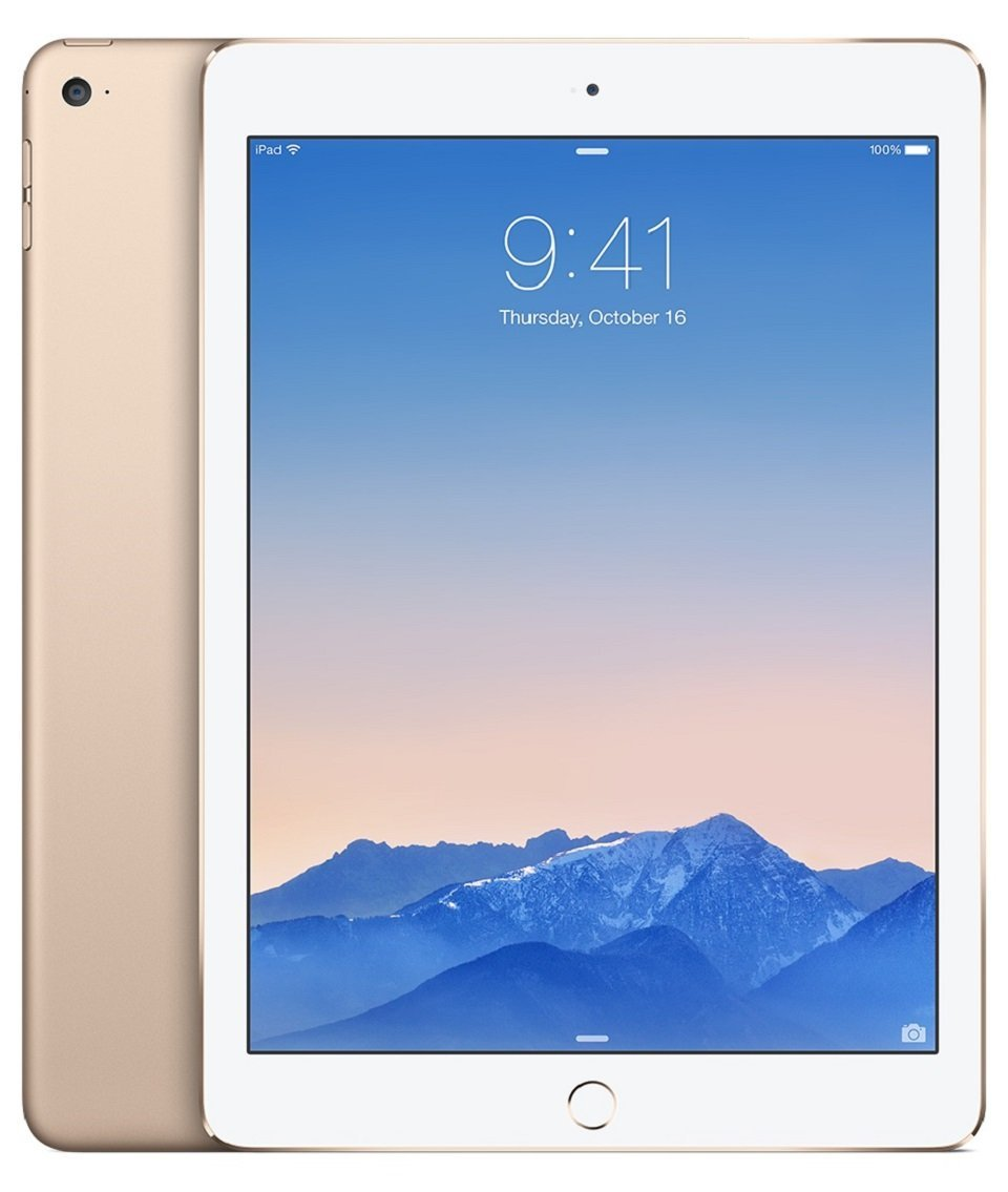 Gold Apple iPad Air 2 MH0W2LL-A
