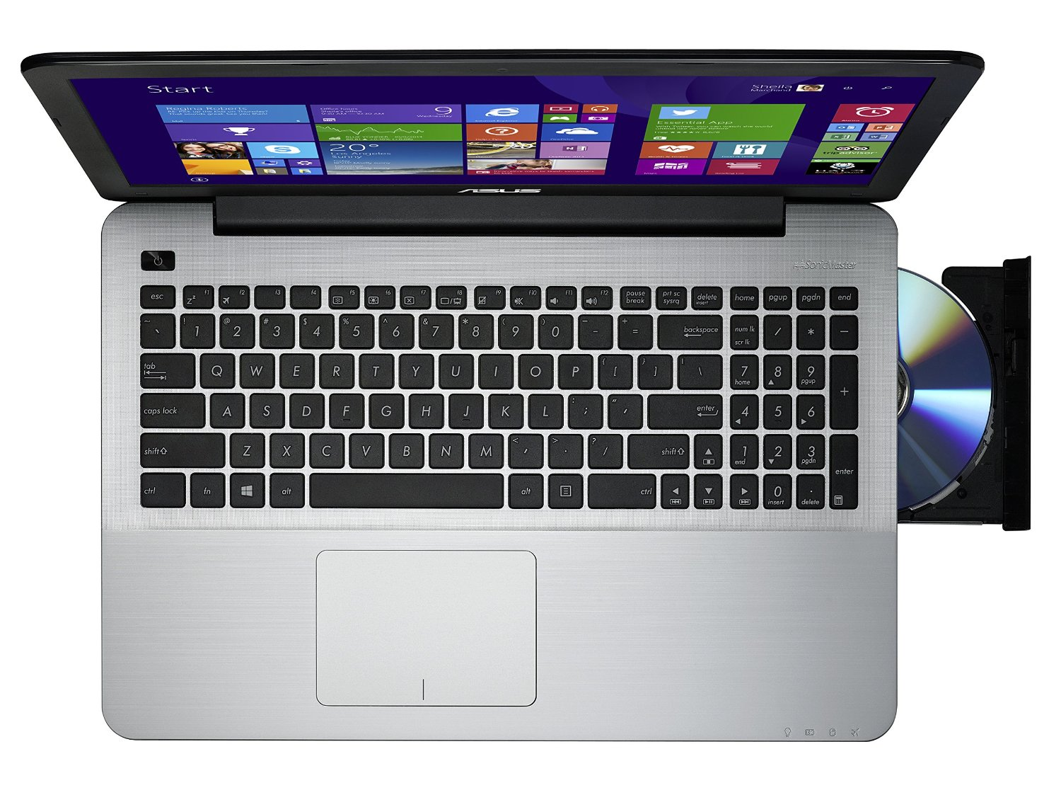 ASUS F555LA-AS51 Core i5 15.6 inch Notebook