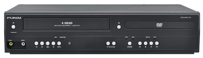 Funai Corp. DV220FX5 Dual Deck DVD and VHS Player