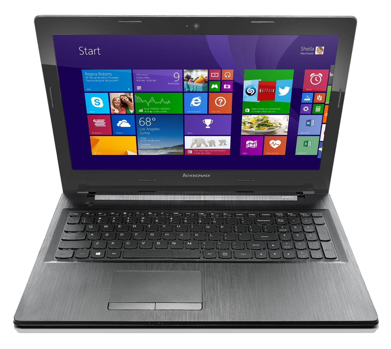 Lenovo G50 15.6-Inch Laptop (80E501B2US)