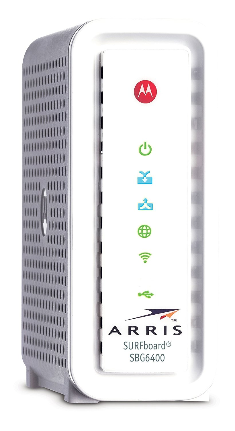 ARRIS Motorola Cable Modem with Wi-Fi N Router (SBG6400)