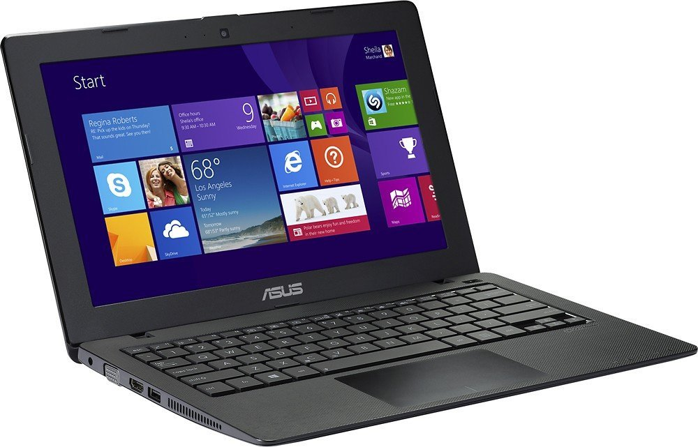 ASUS X200MA-SCL0505F 11.6-Inch Touchscreen Laptop