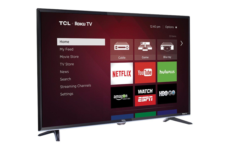 TCL S3800 series 32S3800 32-Inch 720p 60Hz Roku Smart LED TV
