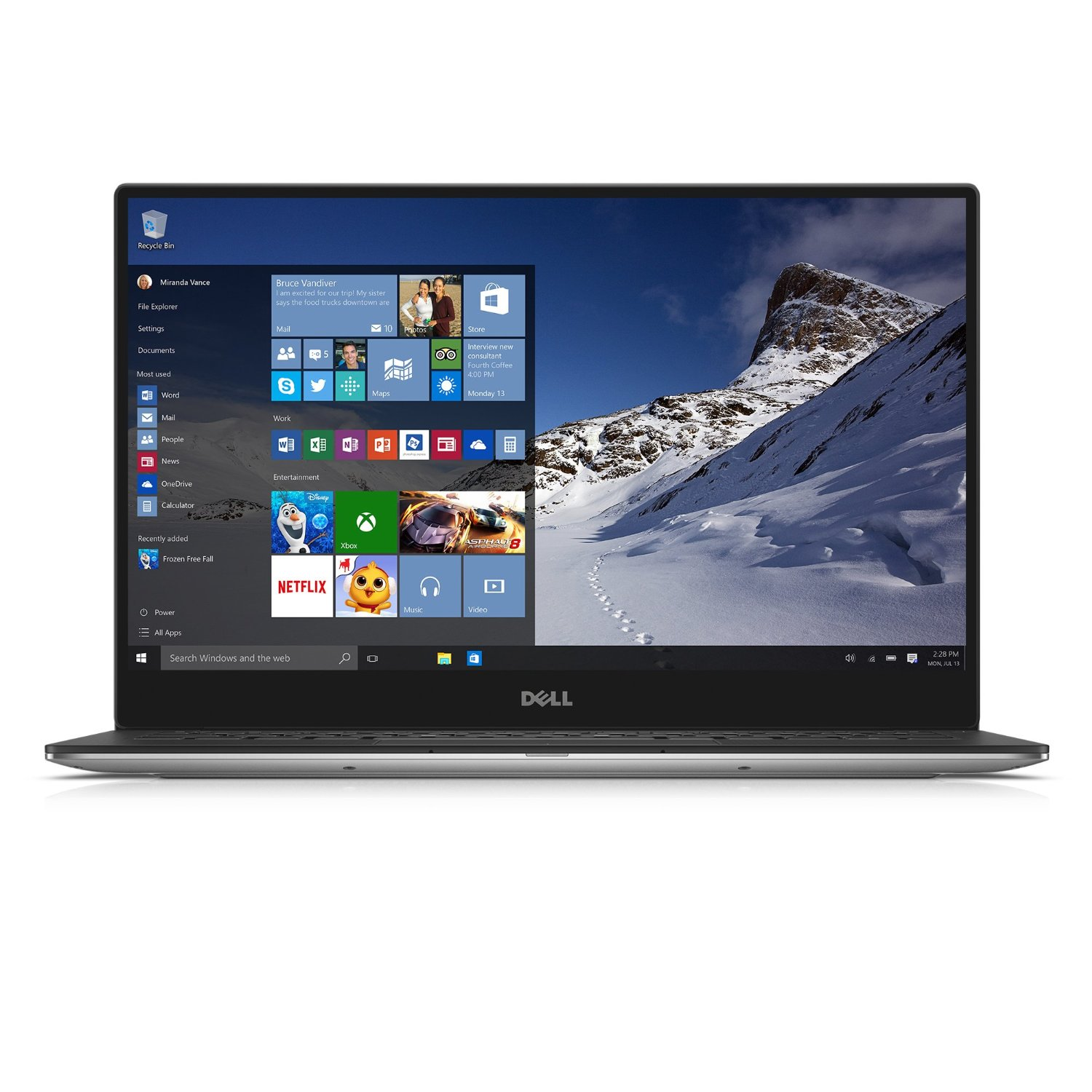 Dell XPS 13 XPS9343-8182SLV 13.3 inch Laptop