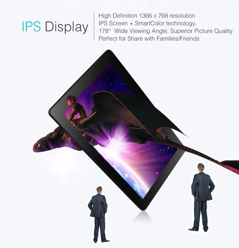 Dragon Touch X10 10 inch Octa Core Android Tablet PC