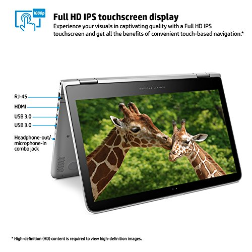 HP Pavilion 13-s128nr x360 13.3-Inch Full-HD 2-in-1 Laptop