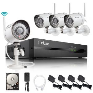 Funlux NEW Smart Wireless Surveillance System