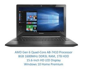 Lenovo G51 15.6 inch AMD A8 laptop