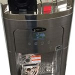 Coffee Maker and Water Cooler, K-cup Compatible, a True Stainless Steel Water Dispenser