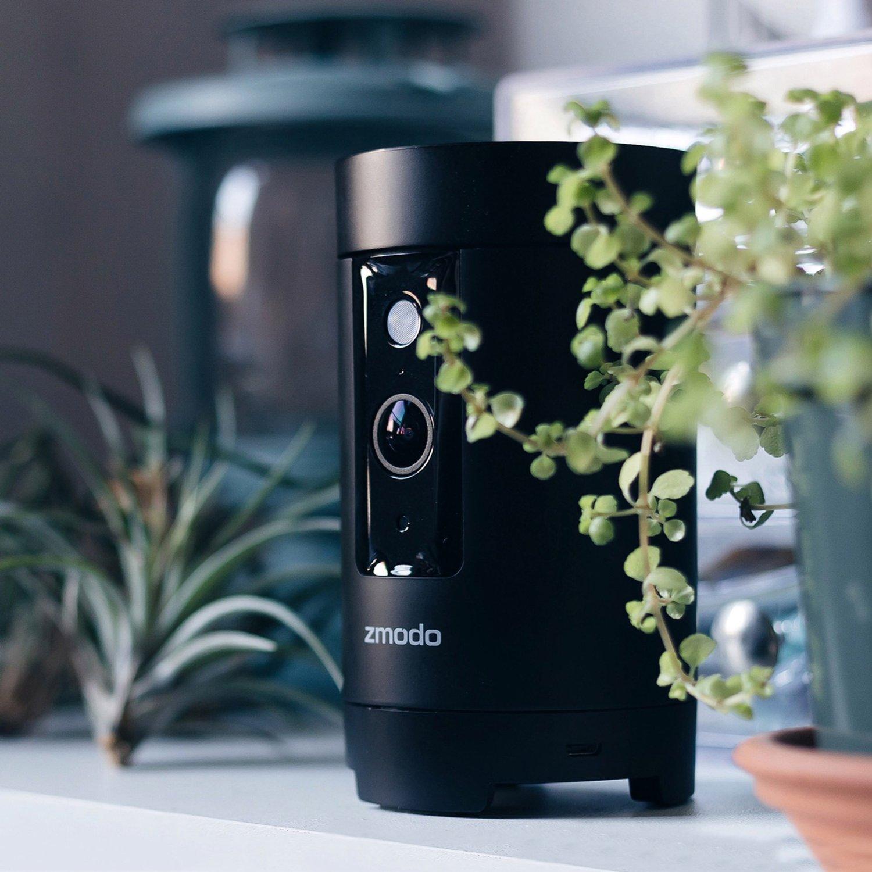 Zmodo Pivot - 360 degree Rotating Camera and Smart Home Hub