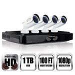 NIGHT OWL C-841-A10 8 Channel 1080P DVR Security System