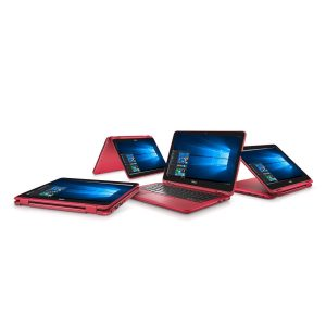 Dell i3168-3270RED 11.6 inch HD 2-in-1 Laptop