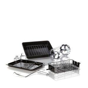 Wolfgang Puck Pressure Oven Rotisserie 29-Liter Countertop Oven BROR1000-A4 Accessories
