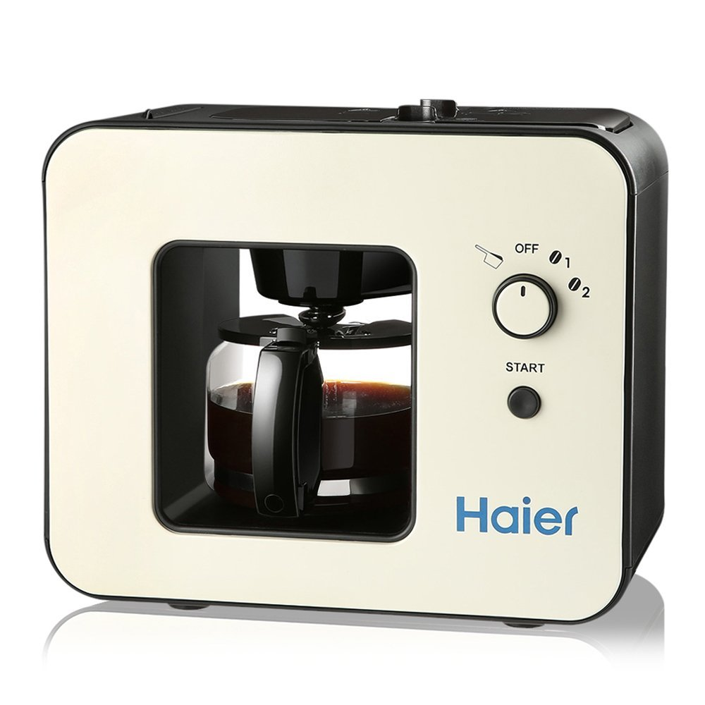 Haier Brew Automatic Coffee Maker 4 Cup with Grinder Espresso Coffee Machine