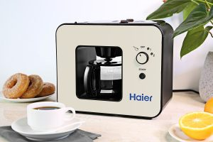 Haier Brew Automatic Coffee Maker 4 Cup with Grinder Espresso Coffee Maker