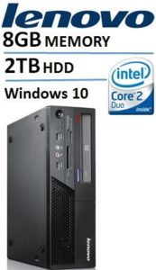 Lenovo ThinkCentre M58 Desktop with Intel Core2 Duo