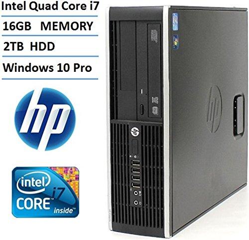 HP Elite 8200 SFF High Performance Business Desktop Computer
