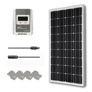 HQST 100 Watt 12 Volt Microcrystalline Solar Panel Kit