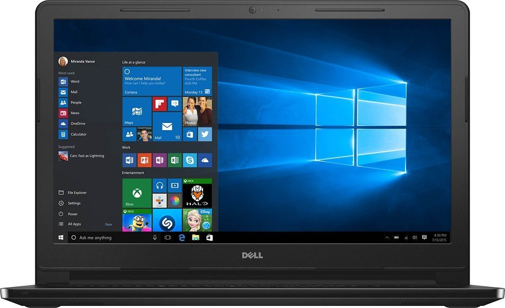 Dell Inspiron 15.6 inch Touchscreen HD i3558-5501BLK ...