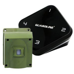 Guardline Mile Long Range Wireless Driveway Alarm