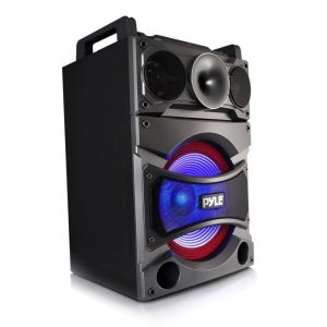 Pyle PSUFM1238BT Bluetooth PA Loudspeaker Karaoke Entertainment System