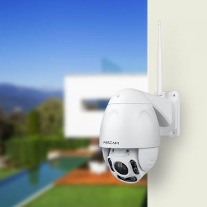 Foscam FI9928P Outdoor Wireless 2.0 Megapixel Pan & Tilt IP Camera