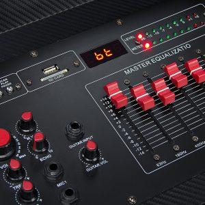 Frisby FS-4090ST Karaoke Machine PA Control Panel