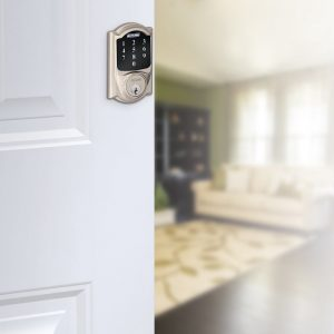 Schlage BE468-2k Connect Camelot Touchscreen Deadbolt