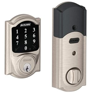 Schlage BE468-2k Connect Camelot Touchscreen Deadbolt with Z-wave Technology
