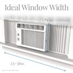 hOme 5000 BTU Window Mounted Air Con