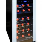 Vinotemp VT-18PTED-2Z 18 Bottle Dual-Zone
