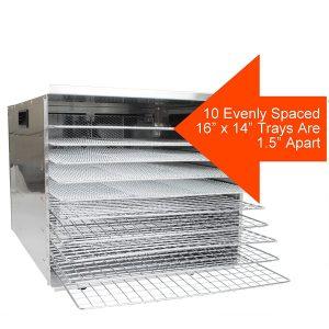 Crawford Kitchen Dehydrator 1000W