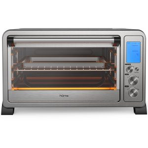 hOme 6 Slice Convection Toaster Oven