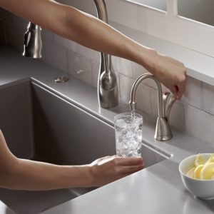 InSinkErator HC-WaveSN-SS Involve Series Wave Hot and Cold Water Dispenser