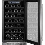 Thorkitchen Wine Cooler HWC2405U 40 Bottles 18 Built-in