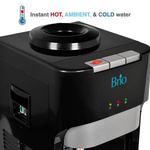 Brio Essential Series CLTL420 Top Load Hot, Cold & Room Water Cooler