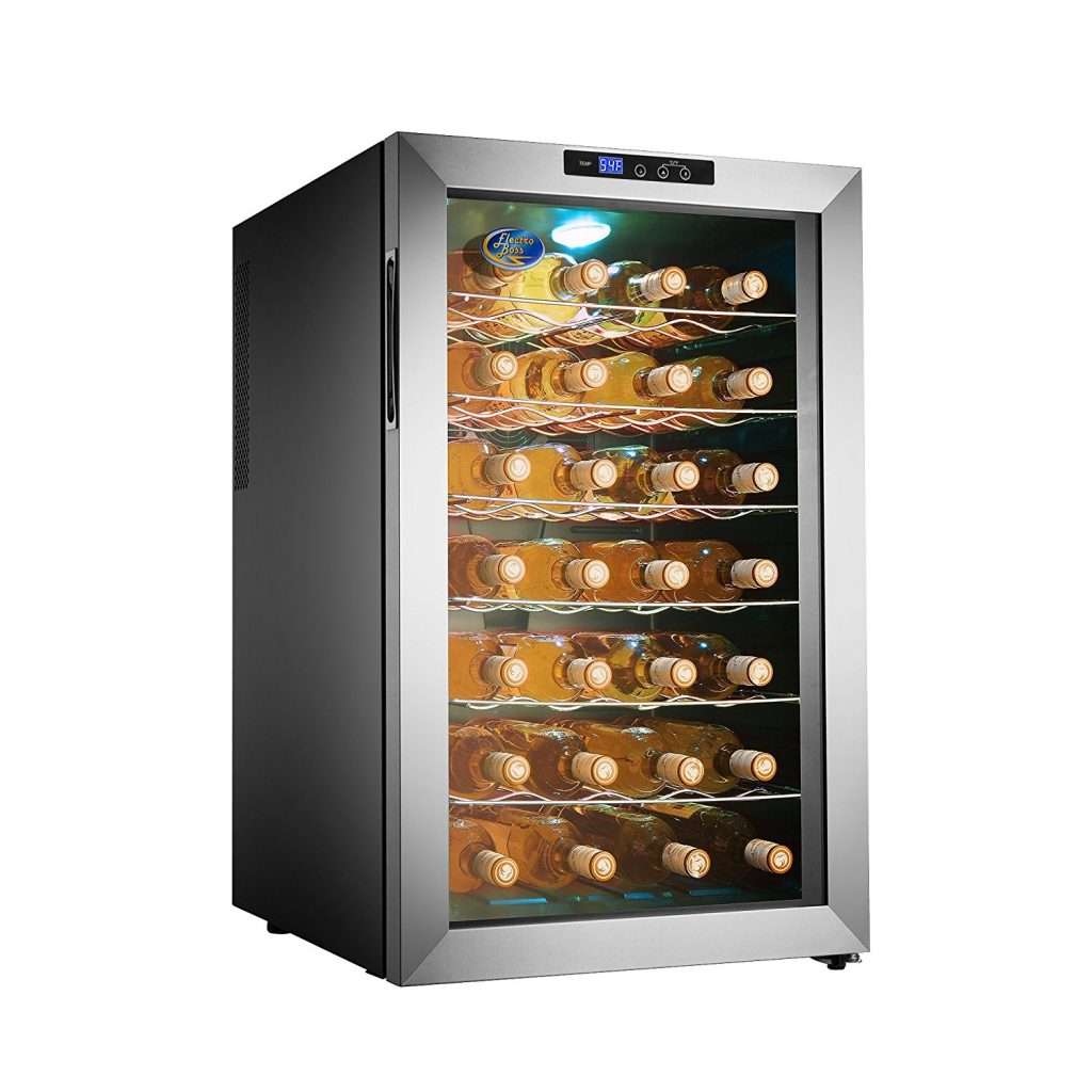 Electro Boss 28 Bottle Thermoelectric Wine Cooler 5335