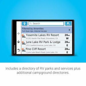 Garmin RV 780 GPS Navigator with Directory