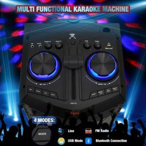 Ankuka Karaoke Sound System 4 Modes