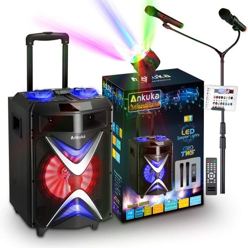 Ankuka Portable Karaoke Machine