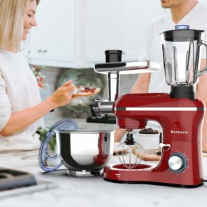 Nurxiovo Stand Mixer 850W 6 Speed Tilt-Head