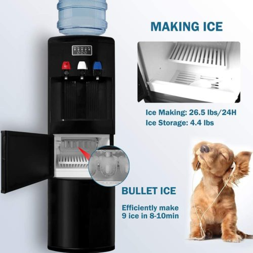 Northair Hot & Cold Water Cooler with Ice Maker