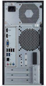 Acer Aspire Desktop, TC-865-UR13 connectivity