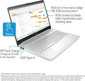 HP 15-ef1010nr Touchscreen Laptop